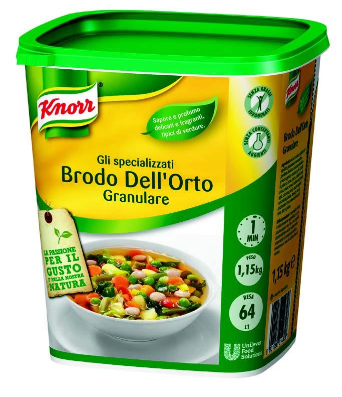 Brodo Dell'Orto kg.1,150 - Knorr